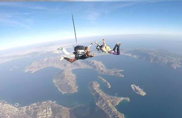 Athens Greece Skydiving