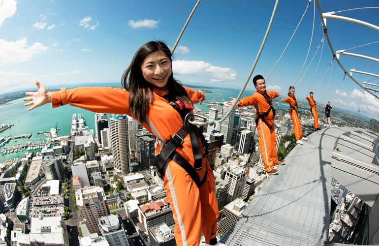 Skywalk in Auckland