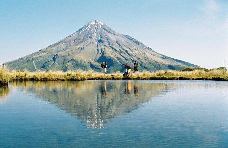 Hiking in Taranaki