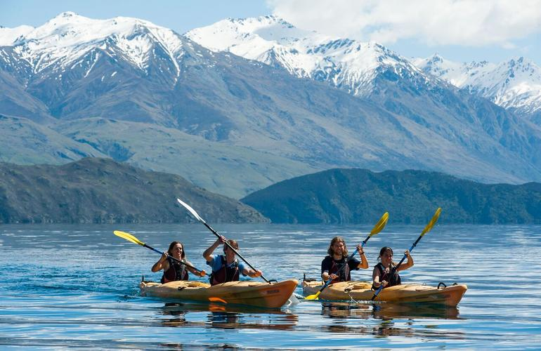 Kayaking in Wanaka