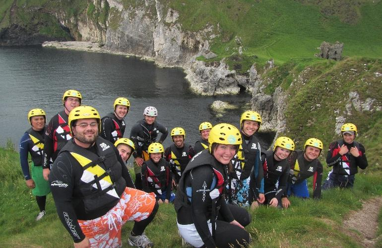 Coasteering in Portrush
