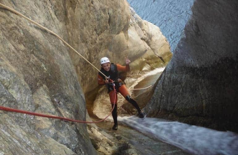 Les Anelles Canyoning