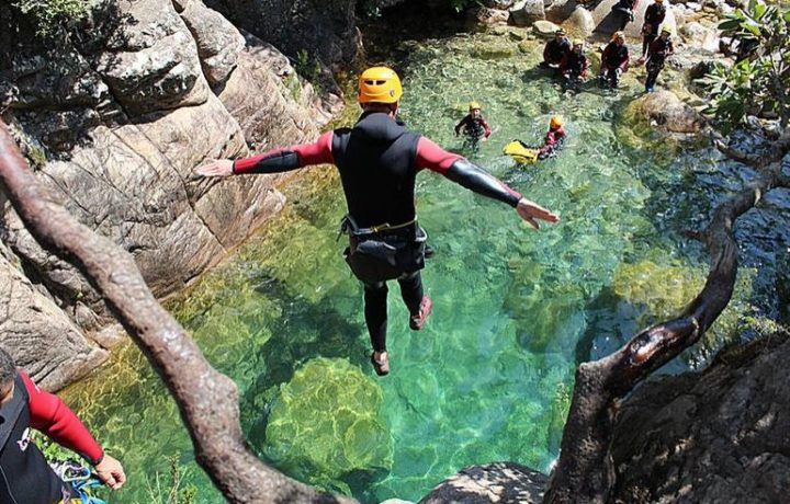canyoning Corsica
