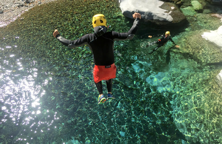 Canyoning excursions from Ponte Leccia, Corsica