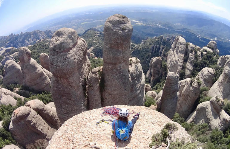 rock climbing in montserrat to begin the ZNMD road trip