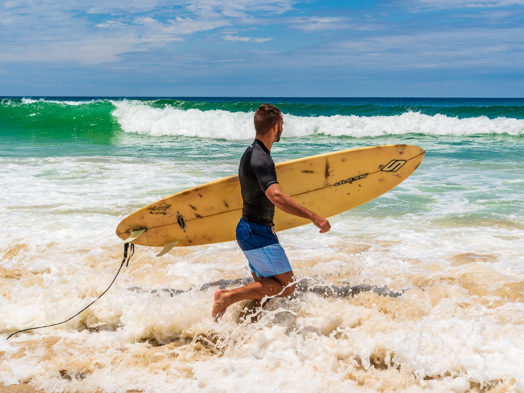 Australia best place to go surfing in the winter