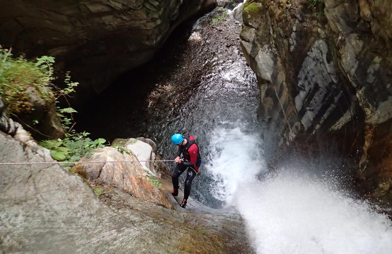 Canceigt Canyon and Bious Ossau Valley Pyrenees Canyoning