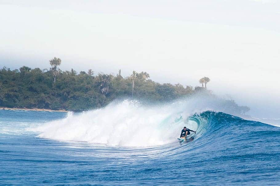 Indonesia Java best places to surf in the winter