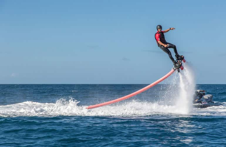 flyboarding as a gift