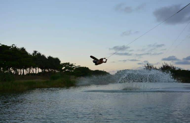 wakeboarding in reunion island
