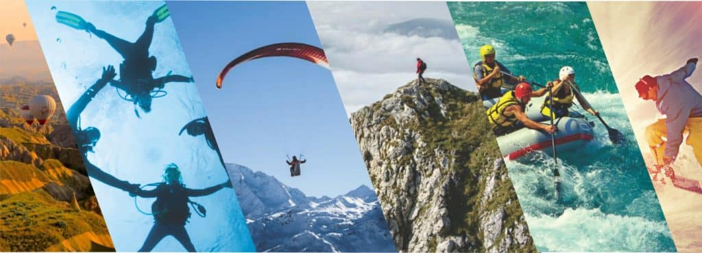 Trend outdoor sports