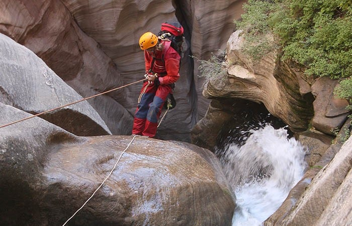 Zion National Park Canyoning