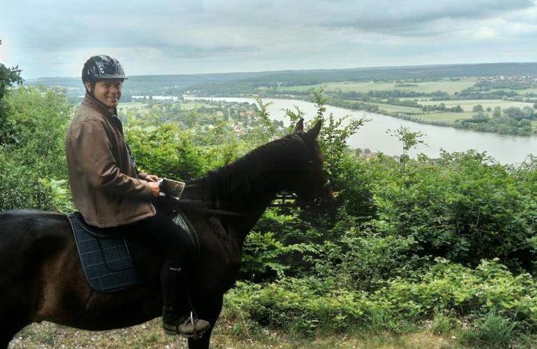 horseback riding in Normandy