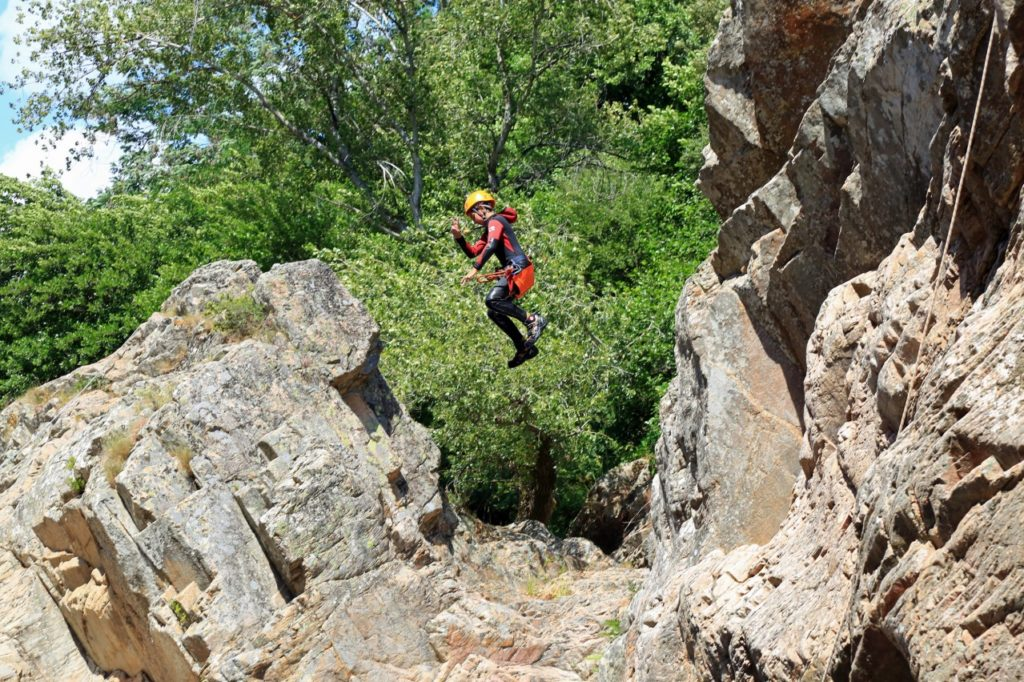Canyoning in Corsica - Gravona